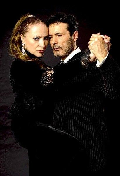 Аргентинское танго. Мария и Карлос Риварола.
